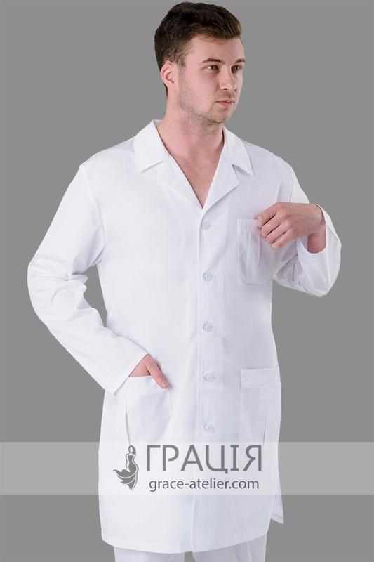 Медичний чоловічий халат Тріумф - інтернет-магазин ТМ Грація! 517812114064b