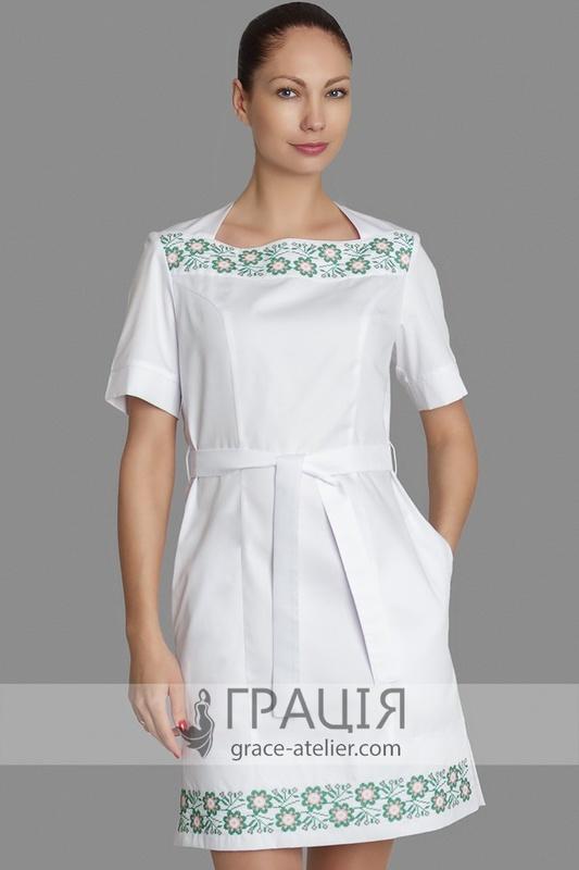 4d4d1560973c73 Модна медична сукня Панночка з вишивкою Панночка - Інтернет-магазин ...