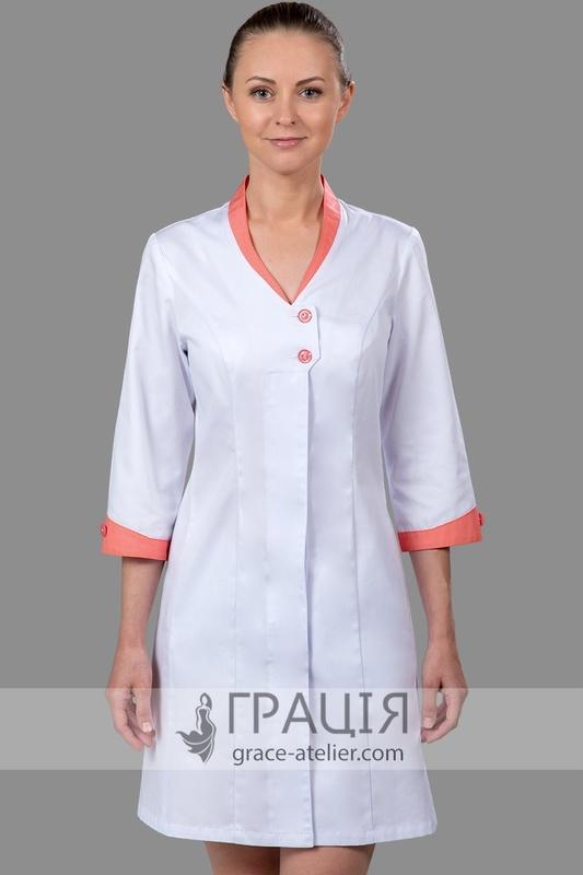 Купити медичний халат Марія в інтернет-магазині ТМ