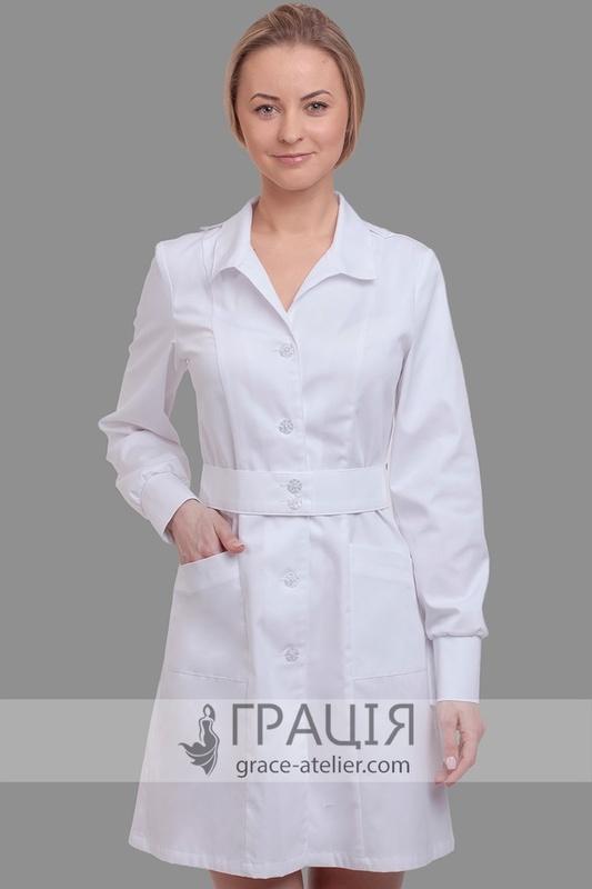 Купити медичний халат Холлі в інтернет-магазині ТМ Грація! 15a21431b0174